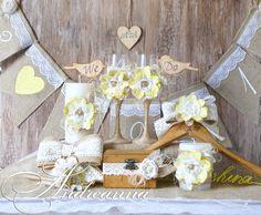 ANDREANNA: Свадебные аксессуары в стиле «Рустик», для церемонии в Греции.