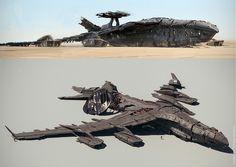 ArtStation - Horizon Zero Dawn - Drone Bomber Design, Mike Hill