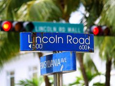 Lincoln Road, Miami Beach...my former stomping ground and home