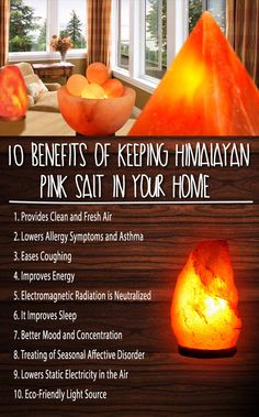 you do not know what a Himalayan Pink Salt lamp is, then you are missing a lot! The lamp naturally provides fresh and clean air. Also, it has many health advantages. Pink Salt Benefits, Himalayan Salt Benefits, Himalayan Salt Lamp, Salt Rock Lamp Benefits, Himalayan Salt Crystals, Natural Health Remedies, Herbal Remedies, Asthma, Pet Health