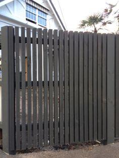 Slat fencing