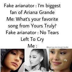Ariana Grande Meme, Ariana Tour, Ariana Grande Photoshoot, Ariana Grande Pictures, Stupid Funny Memes, Funny Facts, Funny Stuff, Ariana Grande Wallpaper, Funny Video Memes