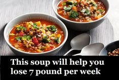 Healthy Soup Recipes for Weight Loss: Try These 2 Healthy Soup Recipes for Weight Loss https://healthysouprecipesweightloss.blogspot.mx/