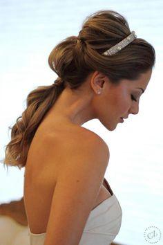 Penteado  para noiva ou madrinha