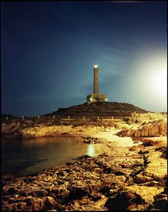 Cabo de Palos, Cartagena - Visit Spain Through Stunning Photographs Light Of The World, Rest Of The World, Wonderful Places, Beautiful Places, Amazing Places, Argentina South America, Madrid, Weather Storm, Spain And Portugal