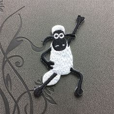 Shaun the Sheep patches iron on patches Sew on patches Cartoon patch