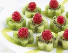 Fruit - simple but pretty party snack.