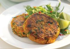 Carrot and Coriander Burgers