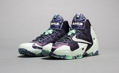 """Nike LeBron 11 """"Gator King"""" http://nicek.is/1bvznq0"""