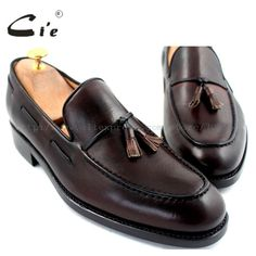 cie Free Shipping Round Toe Tassels Goodyear Welted Handmade Men shoe Outsole Breathable Boat Hand-Painted Coffee Shoe Loafer 23  Price: 298.35 & FREE Shipping Loafer Shoes, Loafers Men, Men's Shoes, Dress Shoes, Flats, Goodyear Welt, Tassels, Oxford Shoes, Toe