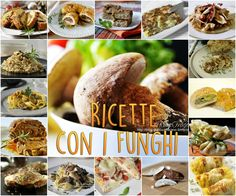 Ecco una raccolta di ricette con i funghi che comprendono sfiziosi antipasti e…