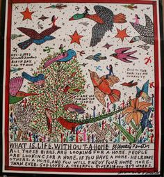 John Kohan presents his collection of contemporary sacred art with insightful commentary. Howard Finster, Cobra Art, Visionary Art, Sacred Art, Art Brut, Naive Art, Outsider Art, Teaching Art, Bird Art