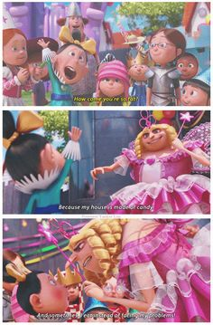 Despicable Me 2 quote.