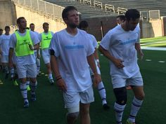#noogastrong | Chattanooga FC players work out in #NoogaStrong T-shirts before ...
