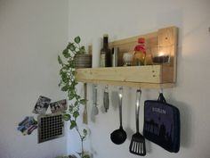 Küchenregal beleuchtet ~ Weinregal küchenregal geölt mit led beleuchtung von shabby
