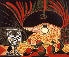 """catmota: """" Still Life under a Lamp (1962) Pablo Picasso this print at Amazon.com """""""