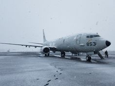 KEFLAVIK, Iceland (April 28, 2017) A P-8A Poseidon aircraft assigned to Patrol Squadron (VP) 16, arrives in Keflavik, Iceland, for anti-submarine warfare training. U.S. 6th Fleet, headquartered in Naples, Italy, conducts the full spectrum of joint and naval operations, often in concert with allied, joint, and interagency partners, in order to advance U.S. national interests and security and stability in Europe and Africa. (U.S. Navy photo by Lt. j.g. Grade Matthew Skoglund/Released)