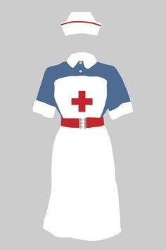 pin up clip art nurse - Google Search