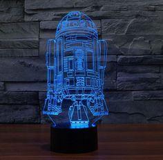 Star Wars Figure Toys Darth Vader Lightsaber Star Light Lamp 3D Millennium Falcon Toy LED Lamp Gift for Kids Children luminaria