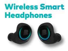 World's First Wireless Smart In Ear Headphones. 1000 Songs. Performance Tracking. Body Sensors. Secure Fit
