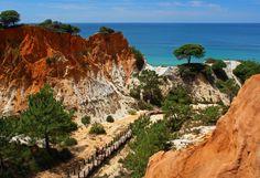 Praia da Falésia. Vilamoura. Algarve, Portugal