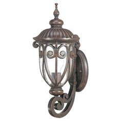 canarm ltd jennifer 1 light orb wall lantern watermark glass