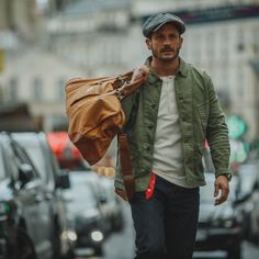 Browse Carver Jacket Ii and more from &SONS Trading Co at Wolf & Badger - the leading destination for independent designer fashion, jewellery and homewares. Casual Fashion Trends, Men Photography, Men's Wardrobe, Blazer Outfits, Denim Fashion, Timeless Fashion, Olive Colour, Pencil Holder, Elbow Patches