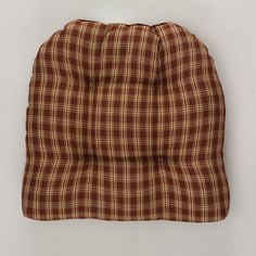 Wine Sturbridge Chair Pad from Park Designs.