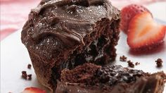 """Known also as """"lava cakes,"""" molten cakes are the answer to the most decadent chocolate craving. Here's an easy version using cake mix."""