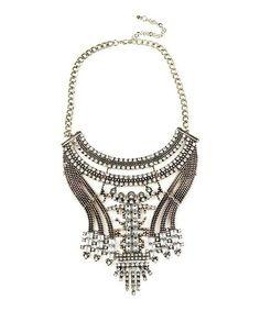Look what I found on #zulily! Silvertone Dance Necklace by Eye Candy LA #zulilyfinds