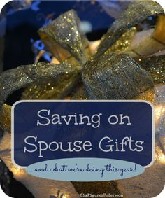 Don't skimp on #gifts for your #spouse even when times are tough - you can show your love with more #frugal #presents like these! Here are some #tips for #saving on spousal gifts. #moneysavingtips