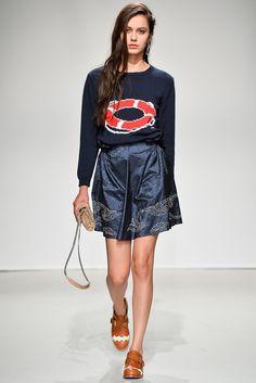 Julien David Spring 2014 #sweater #print #nautical
