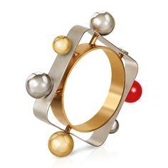 Tektronic Bracelet by Roger Vivier