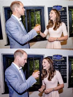 "royalcatherine: "" ""The Duke and Duchess of Cambridge during a visit to a cider…"