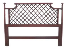 Full Size Headboard, Justina Blakeney, Faux Bamboo, Bed Sizes, Outdoor Furniture, Outdoor Decor, Vintage Decor, Rattan, Brick
