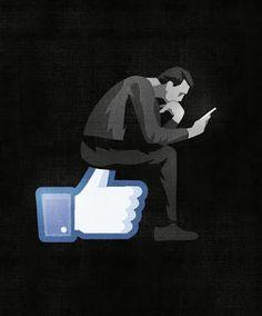 Your self esteem all boosted or depleted based upon social media likes? Social Media Art, Meaningful Pictures, Satirical Illustrations, Political Art, Arte Pop, Jolie Photo, Medium Art, Art Drawings, Street Art