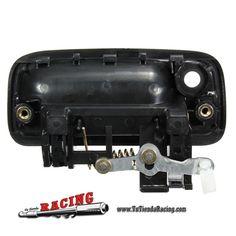 10,38€ - ENVÍO SIEMPRE GRATUITO - Pomo Tirador de Puerta Exterior Izquierda de Coche Toyota Tacoma 95-04 Color Negro - TUTIENDARACING
