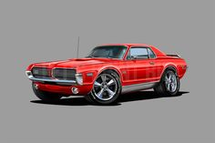 Crazy Cars, Weird Cars, Cartoon Wall, Hot Rods, Man Cave, Biodegradable Products, Wall Decals, Kids Room, Eco Friendly