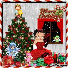 Christmas with Betty Boop and friends