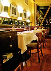 Cafe Claude: unpretentious / french / neighborhood restaurant in the Financial District.