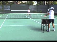 Serve and Volley Tennis Drill - from WebTennis24.com