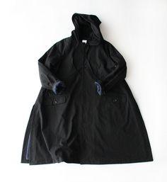 СО-030 Холст с капюшоном пальто - Veritecoeur др SES COPAINS, пальто - Veritecoeur (ヴ ェ リ テ ク ー ル)