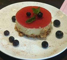 This Red Zen cheesecake is the perfect indulgence for the holiday season.  #HungryForever #hungryforeverco #redzen #redzencheesecake #cheesecake #yum #dessert