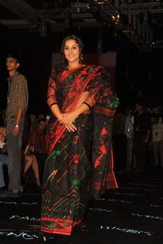 Vidya Balan  Walks for Swades Foundation By Vikram Phadnis at LIFW 2013.