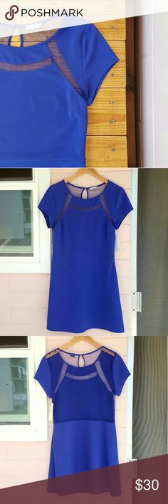 L PURPLE TOBI DRESS *purple short sleeve dress *size large *97% polyester 3% elastane *brand new with tags (comes with extra button too) *keyhole sheer back *adorable dress perfect for any outing *comes from a smoke-FREE & pet-FREE home Tobi Dresses