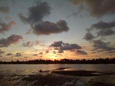 Evening in Tanjung Batu Beach