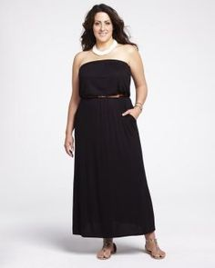 My new purchase. Got to love summer! Addition Elle, Strapless Dress Formal, Formal Dresses, Girl Closet, Online Dress Shopping, Complete Outfits, Plus Size Fashion, Curvy, Passion