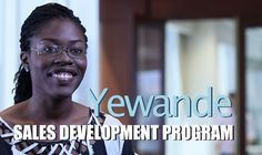 Here's Yewande, our regional #sales representative. She makes sure that all headquarters' objectives are executed in #retail. When joining the sales development program, you'll tackle real #business projects to help build your #professional portfolio.