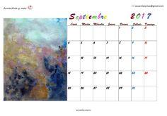 Mes de cambio de estación y más, sólo quiero avanzar y mirar mi presente casa día con esperanza renovada. Buenos cambios para todos!!! #September #septiembre #Calendar #calendario #artist #draw #watercolor #acuarelas #painting