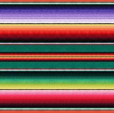 Fiesta Colorful Southwestern Serape Stripe Southwest